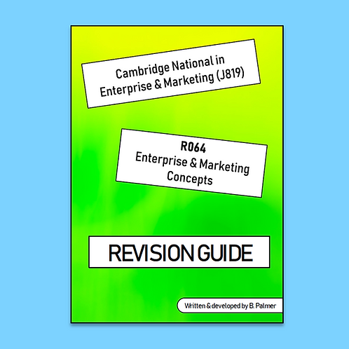 R064 Revision Guide (Professionally Printed)