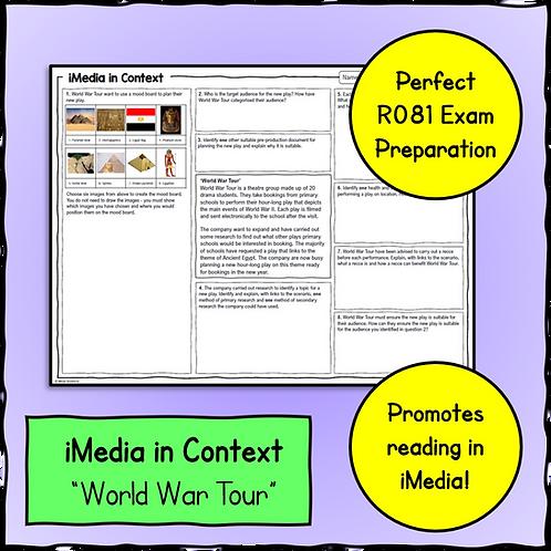 iMedia in Context Scenario & Questions Sheet 1