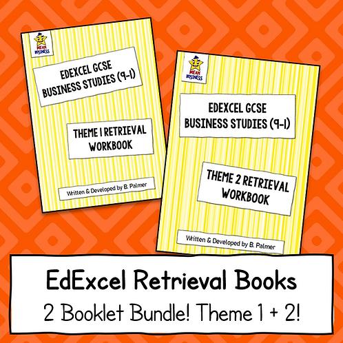 EdExcel GCSE Business Theme 1 + Theme 2 Retrieval Bundle