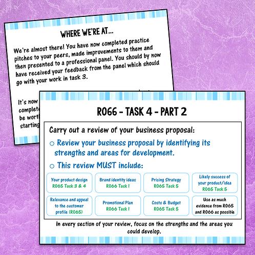 R066 Task 4 Teacher PowerPoint (Free)