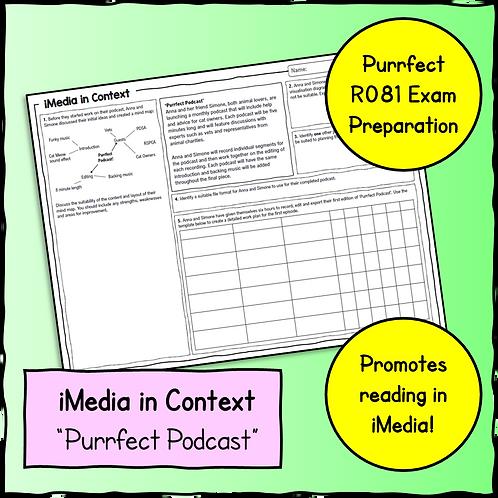 iMedia in Context Scenario & Questions Sheet 2
