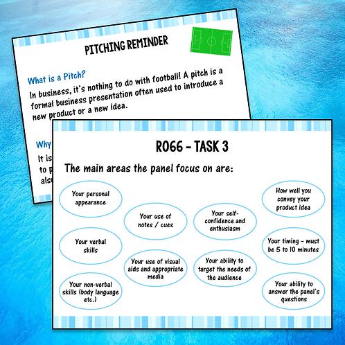 R066 Task 3 Teacher PowerPoint (Free)