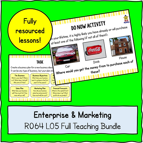 R064 LO5 Teaching Pack Bundle