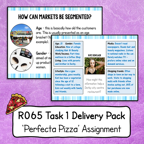 R065 Task 1 Delivery Pack (Perfecta Pizza)