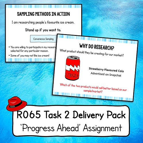R065 Task 2 Delivery Pack (Progress Ahead)