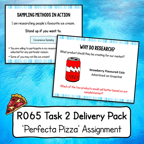 R065 Task 2 Delivery Pack (Perfecta Pizza)
