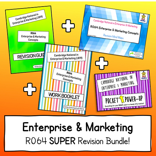 R064 SUPER Printed Revision Bundle (4 Individual Booklets!)