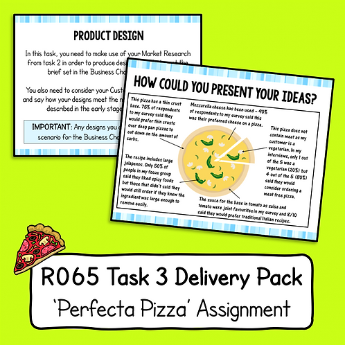 R065 Task 3 Delivery Pack (Perfecta Pizza)
