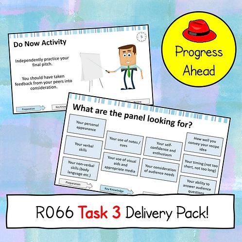 R066 Task 3 Teaching Resources (Progress Ahead)