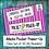 "Thumbnail: Creative iMedia R081 ""Pocket Power-Up"" Booklets - Class Set of 30!"