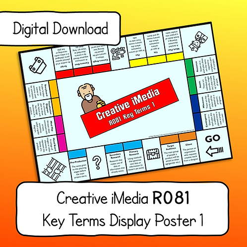 R081 Key Terms Display Poster / Handout Part 1