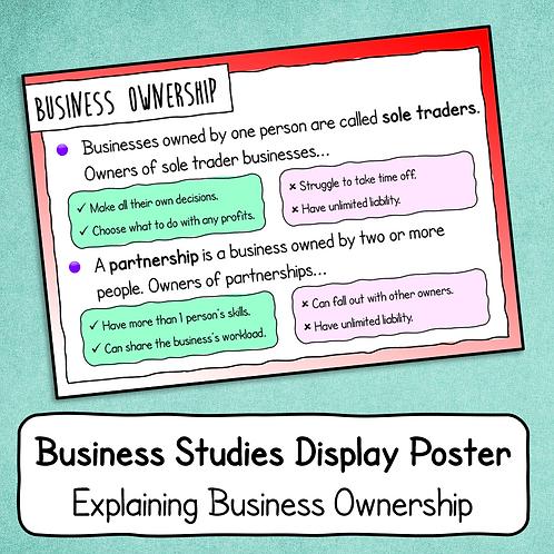 Explaining Ownership Poster / Handout