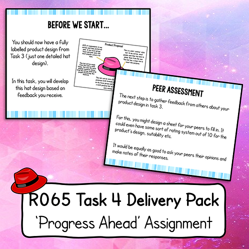 R065 Task 4 Delivery Pack (Progress Ahead)