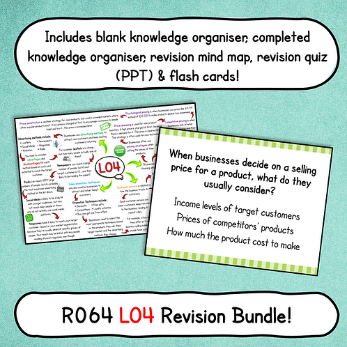 R064 LO4 Revision Bundle