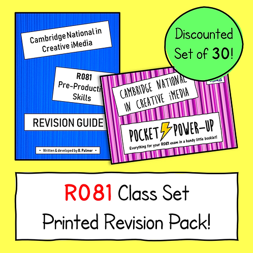 R081 Printed Revision - Class Set of 30