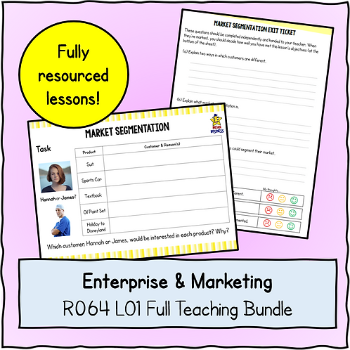 R064 LO1 Teaching Pack Bundle