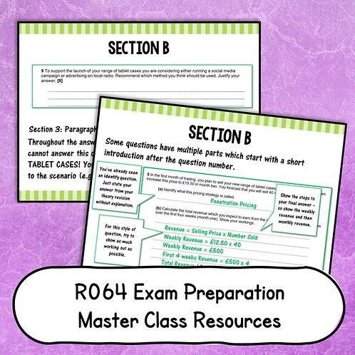 R064 Exam Preparation 'Masterclass'