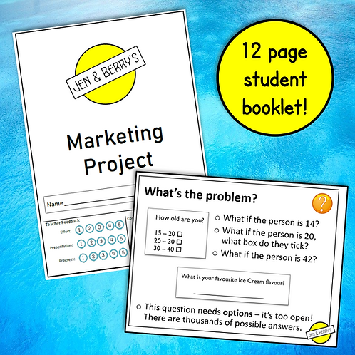 R065 'Practice Project' Student Booklet & Teacher PowerPoint