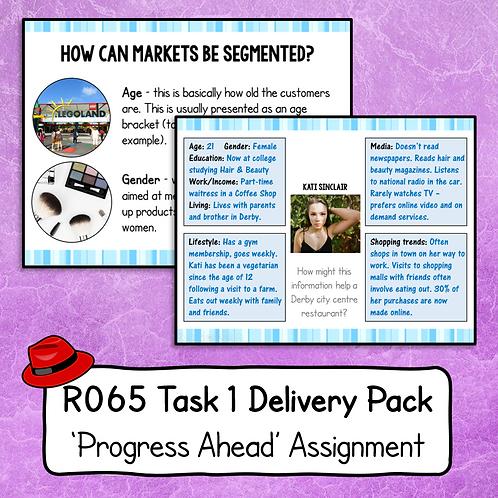 R065 Task 1 Delivery Pack (Progress Ahead)