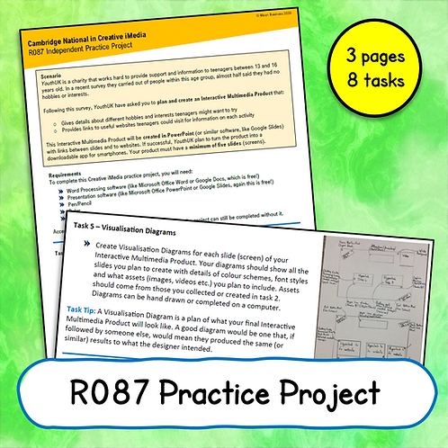R087 Practice Project (8 Tasks)