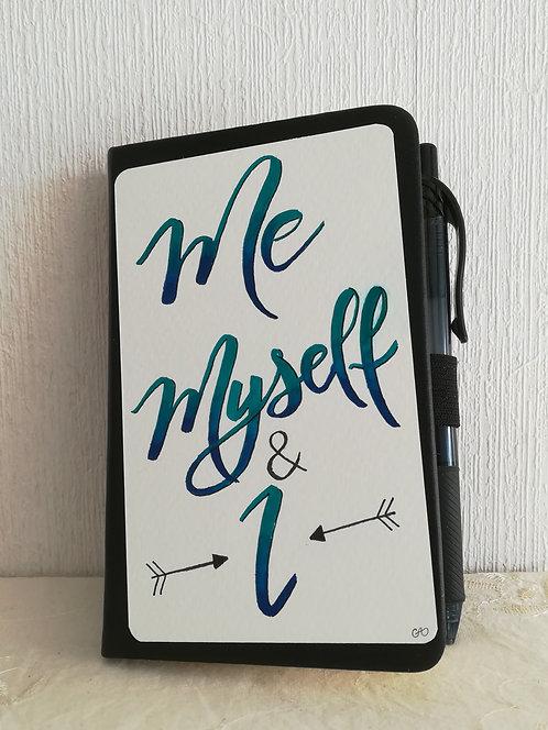 "Carnet ""Me, myself & I"""