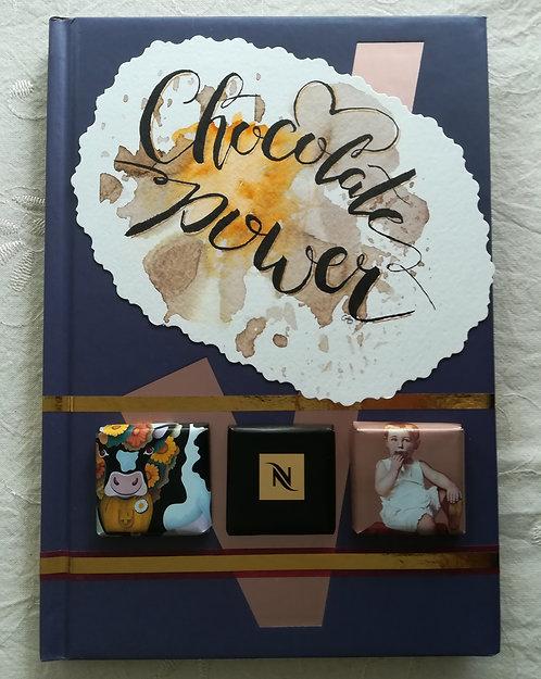 "Cahier ""Chocolate Power"""
