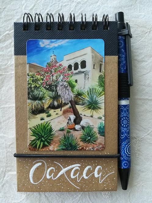 """Carnet """"Jardin Etnobotanico Oaxaca"""""""