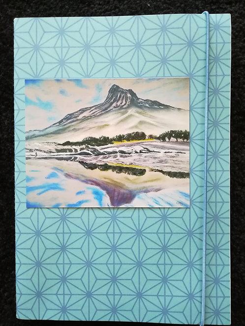 """Cahier """"Lac de montagne"""""""