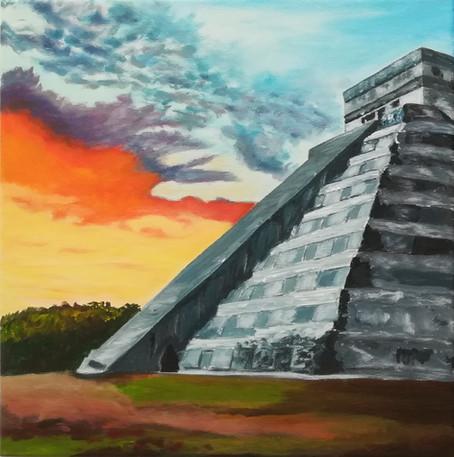 Pyramide de Chichen Itza - Mexique