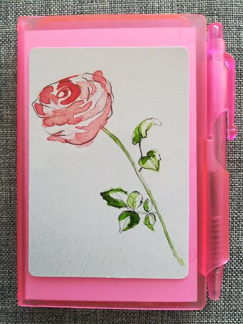 "Carnet ""Rose"""