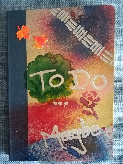 "Carnet ""To do... maybe"""