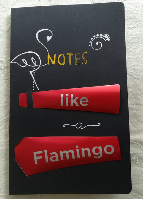 """Cahier """"Like a Flamingo"""""""