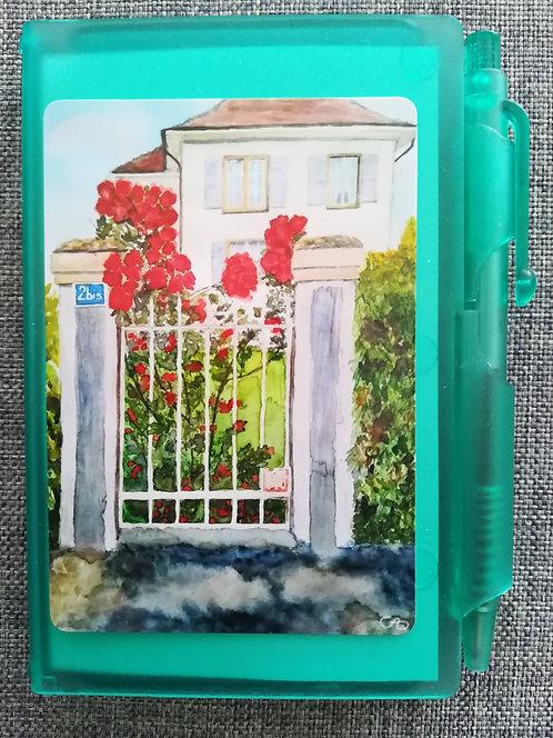 """Carnet """"La maison aux roses"""""""