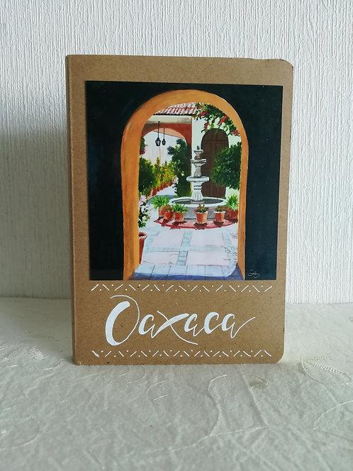 """Carnet """"Fuente Oaxaca"""""""