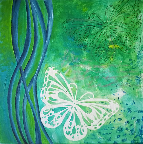 "Toile ""Butterfly"""