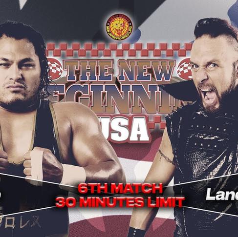 "Check This!: Lance Archer vs. Jeff Cobb - NJPW ""The New Beginning USA Tour"" 2020"