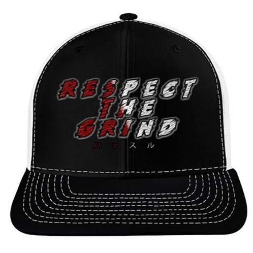 RESPECT THE GRIND Snapback - GreshDigital