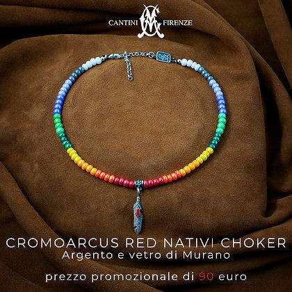 cromoarcus red nativi choker