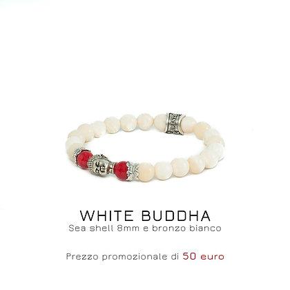 WHI9TE BUDDHA