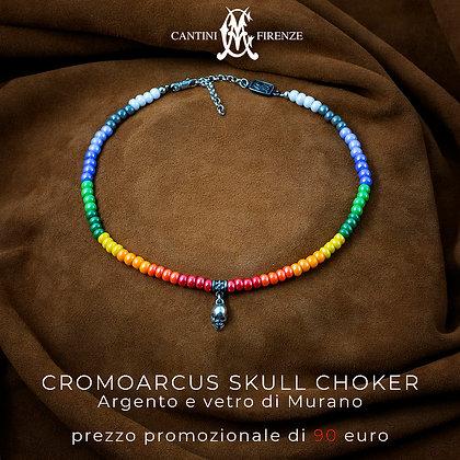 cromoarcus skull choker
