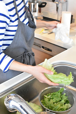 新鮮な旬野菜たっぷり
