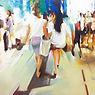 김동욱_명동거리_Oil on canvas_72.7X60.6cm_2014.