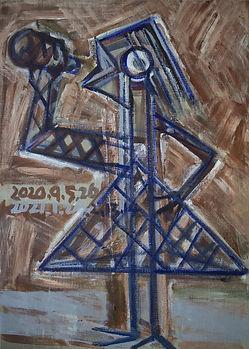 서용선, 마고, 72.5x52.7cm, Acrylic on canvas,