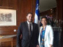 LVIC et Mme Nadine Giraut Ministre du Quéec