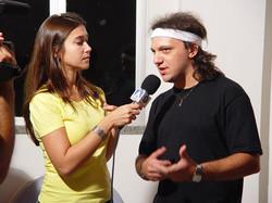 Entrvista para TV Record - Nordeste