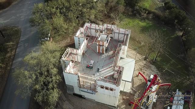 Austin Touchstone Builders - Net Zero Model Home - ICF Post-Pour