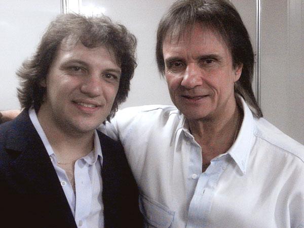 Com Roberto Carlos - SP - 2006