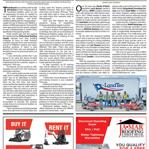 Professional Building Supply Published in Construction News