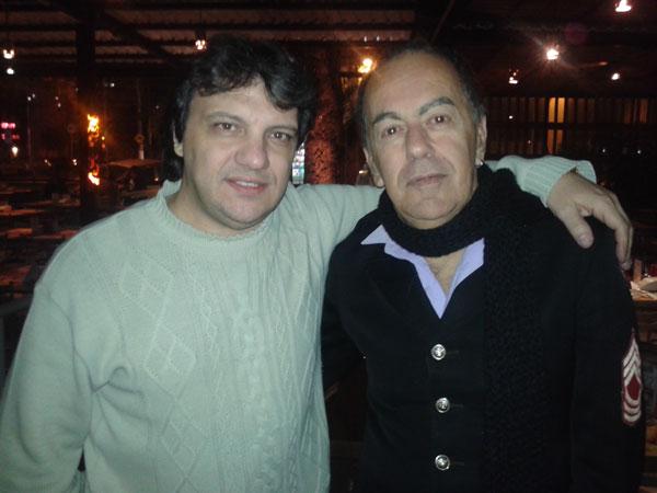 Com Helio Santisteban (ex- Pholhas)
