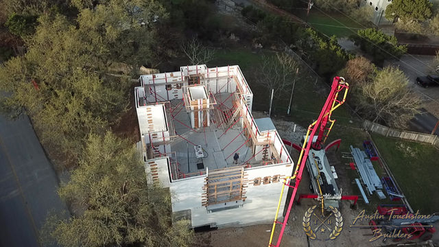 Austin Touchstone Builders - Net Zero Model Home - ICF Pre-Pour